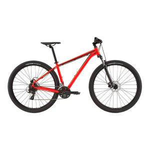 cannondale trail 7 rosso acido