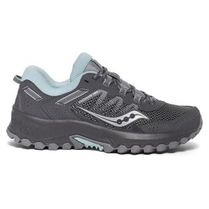 saucony excursion tr13 charcoal blue