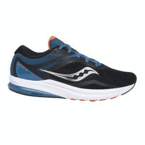 saucony jazz 22 blue black