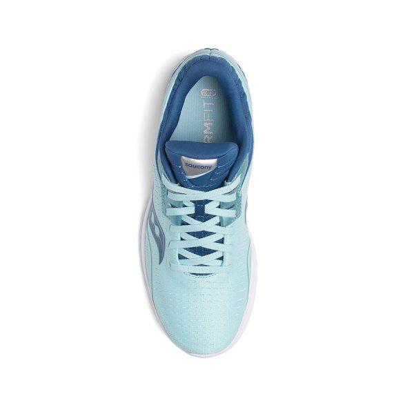 saucony kinvara 11 w aqua blue 3