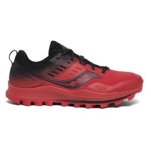 saucony peregrine 10 st barberry black