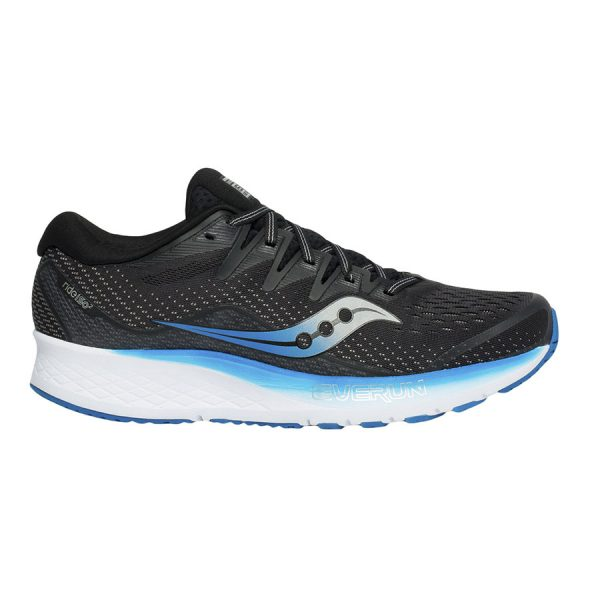 saucony ride iso 2 black blue