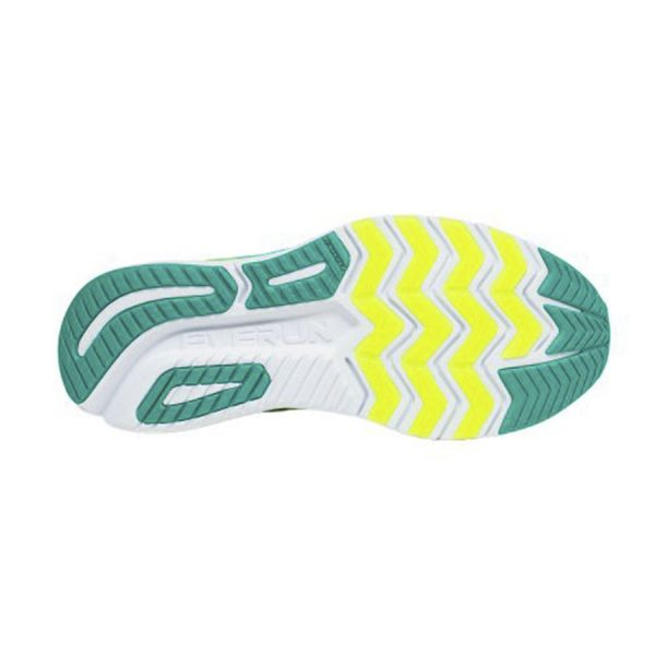 saucony ride iso 2 citron teal