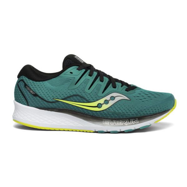 saucony ride iso 2 teal black
