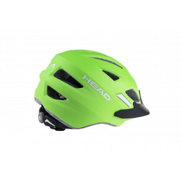 head helmet kid y11 verde 2